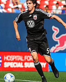 Dejan Jakovic playing for DC United
